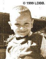 El autor, con uno o dos años de edad (hacia 1959 o 1960).