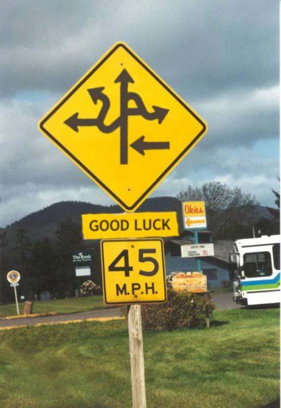 ¡Buena suerte! Y recuerda que... 'Si no sabes hacia dónde vas... ¡por cualquier camino llegarás!'
