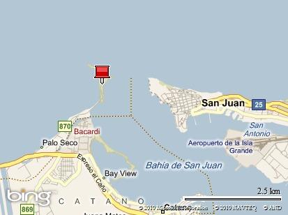 Polígono de Tiro de la Policía de Puerto Rico, Isla de Cabras, Toa Baja, P.R.