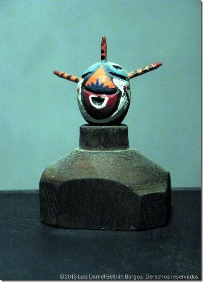 Máscara de vejigante de Loíza Aldea.
